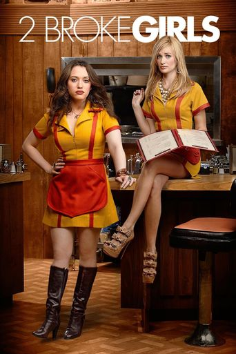 2 Broke Girls Poster