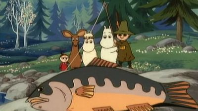 Season 01, Episode 70 Moomin's Big Fish