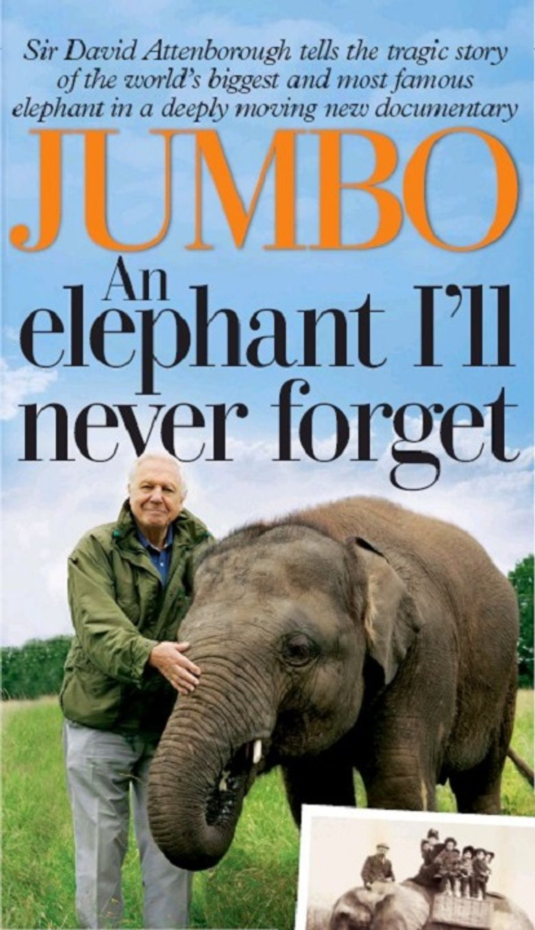 Attenborough and the Giant Elephant Poster