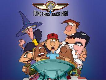 Flying Rhino Junior High Poster