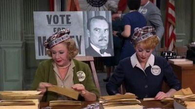 Season 02, Episode 25 Lucy Goes into Politics