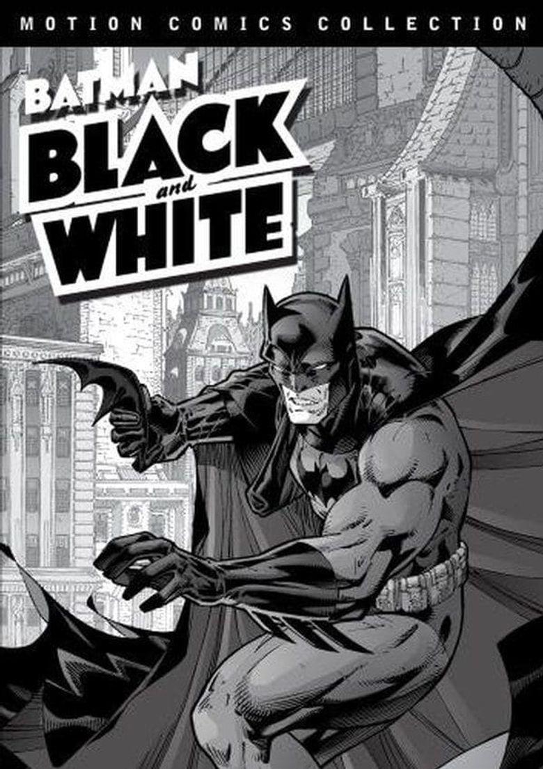 Batman: Black and White Motion Comics Poster