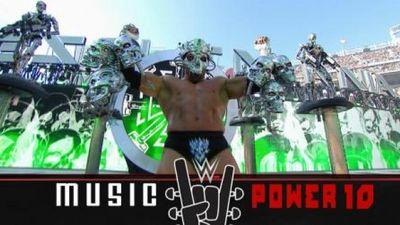 Season 2015, Episode 01 Music Power 10: WrestleMania