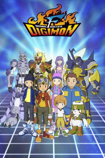 Digimon Frontier Poster