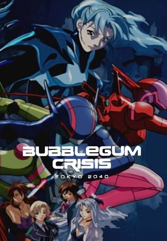 Bubblegum Crisis - Tokyo 2040 Poster