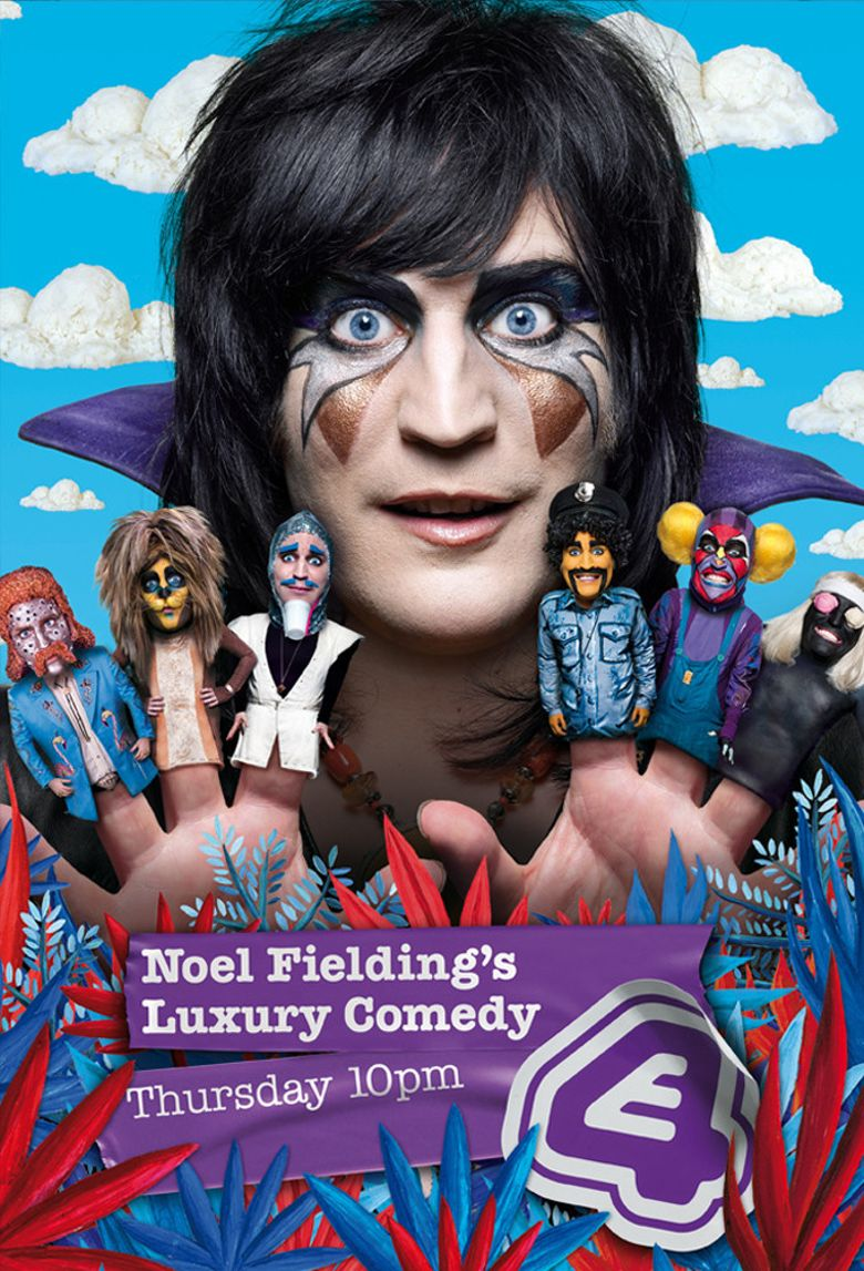 Noel Fielding's Luxury Comedy Poster