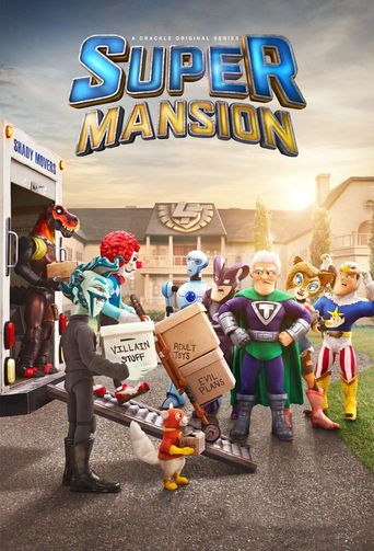 Supermansion Poster