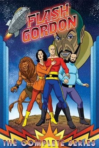 The New Adventures of Flash Gordon Poster