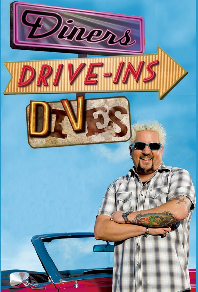 Diners, Drive-Ins and Dives Poster