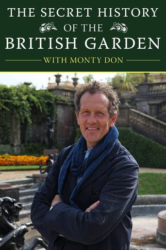 The Secret History of the British Garden Poster
