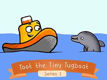 Toot the Tiny Tugboat Poster