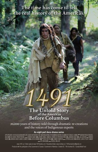 1491: The Untold Story of the Americas Before Columbus Poster