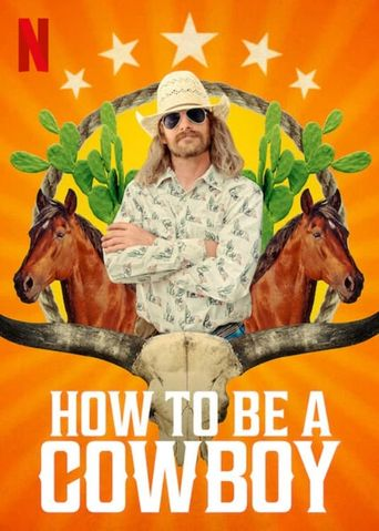 How to Be a Cowboy Poster