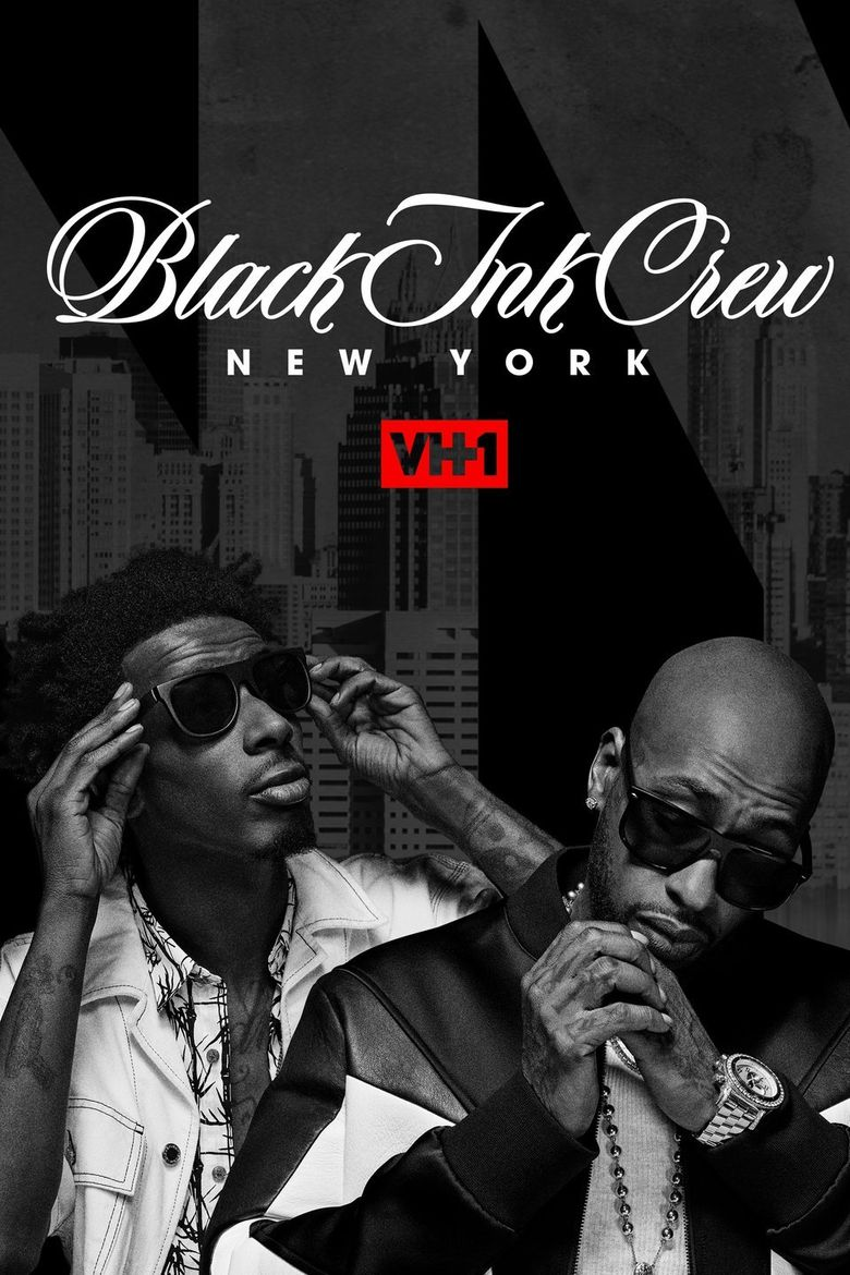 Black Ink Crew New York Poster