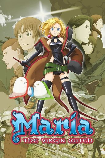 Maria the Virgin Witch Poster