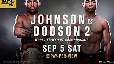Season 191, Episode 102 UFC 191 Preview