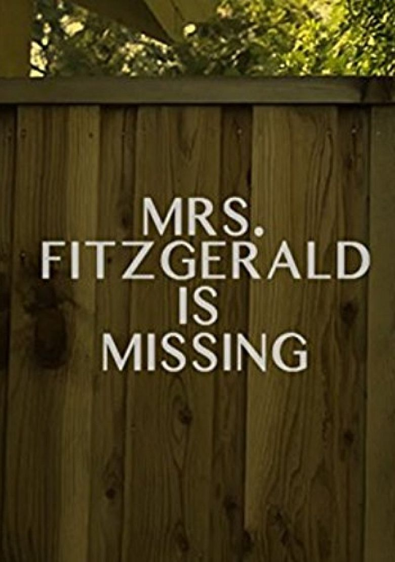 Mrs. Fitzgerald Is Missing Poster