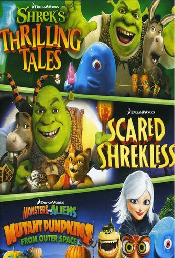 Dreamworks Spooky Stories Poster