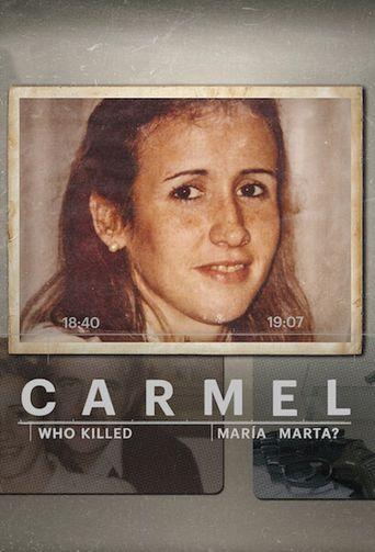 Carmel: Who Killed Maria Marta? Poster
