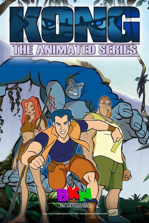 Kong: The Animated Series Poster