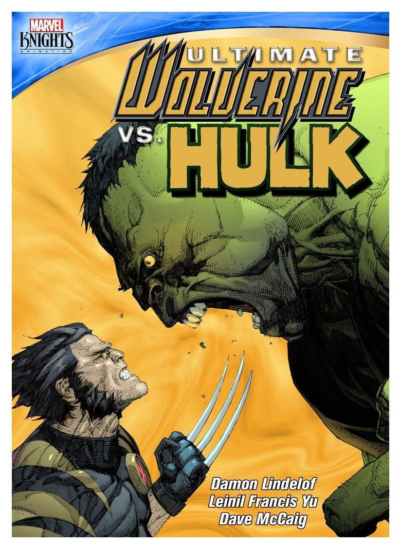 Ultimate Wolverine vs. Hulk Poster
