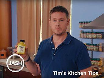 Tim's Kitchen Tips Poster