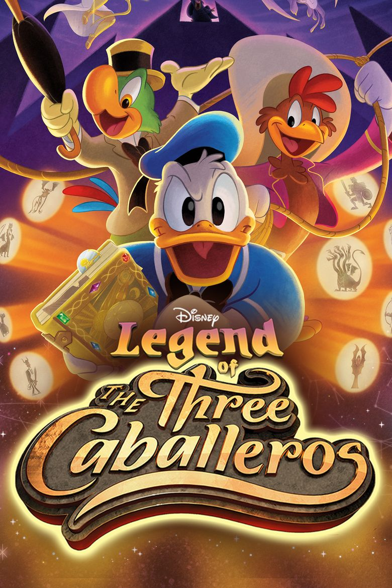 Legend of the Three Caballeros Poster