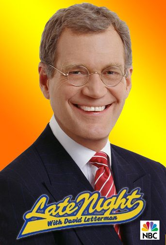 Late Night with David Letterman Poster