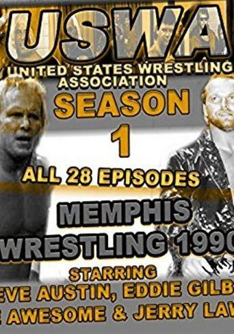 USWA Memphis Wrestling Poster