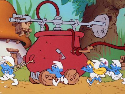 Season 03, Episode 03 The Smurf Fire Brigade