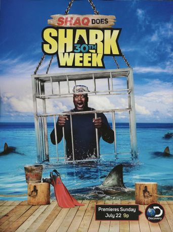 Shaq Does Shark Week Poster