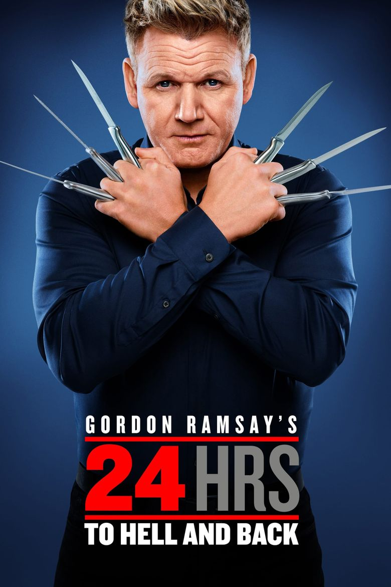 Gordon Ramsay's 24 Hours to Hell and Back Poster