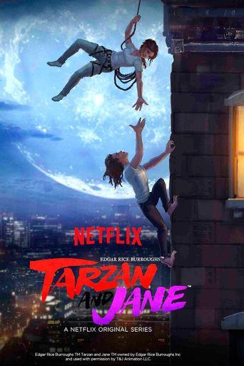 Edgar Rice Burroughs' Tarzan and Jane Poster