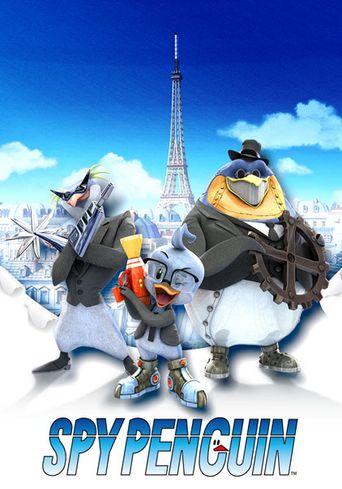 Spy Penguin Poster