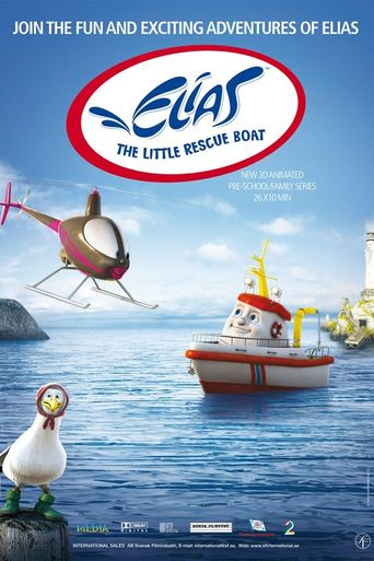 Elias: The Little Rescue Boat Poster