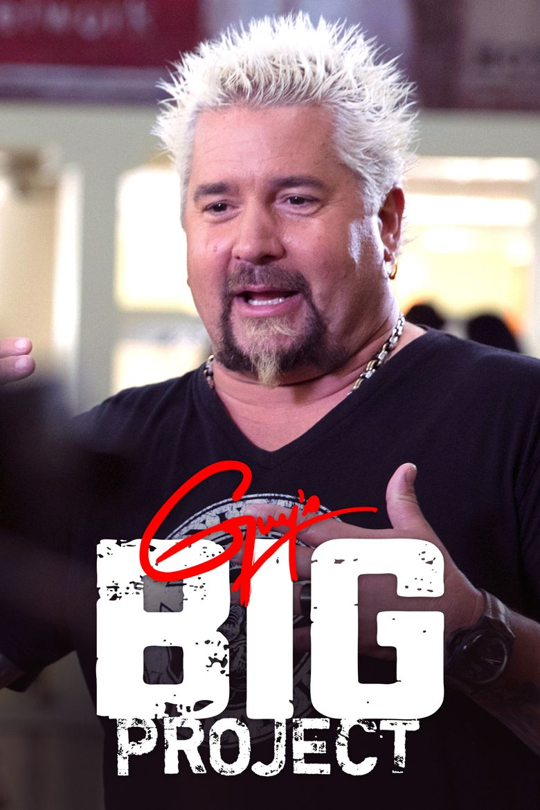 Guy's Big Project Poster