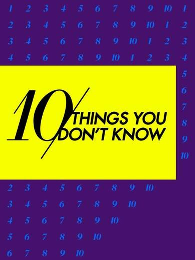 10 Things You Don't Know Poster