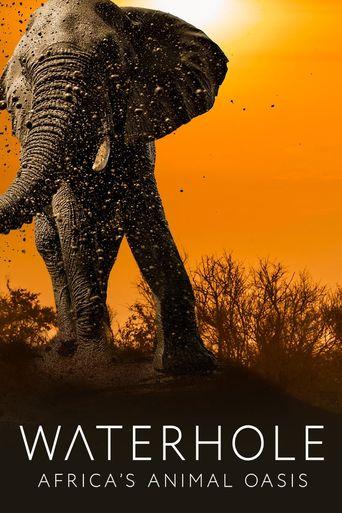 Waterhole: Africa's Animal Oasis Poster