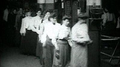 Season 01, Episode 06 Girls taking time checks, Westinghouse works
