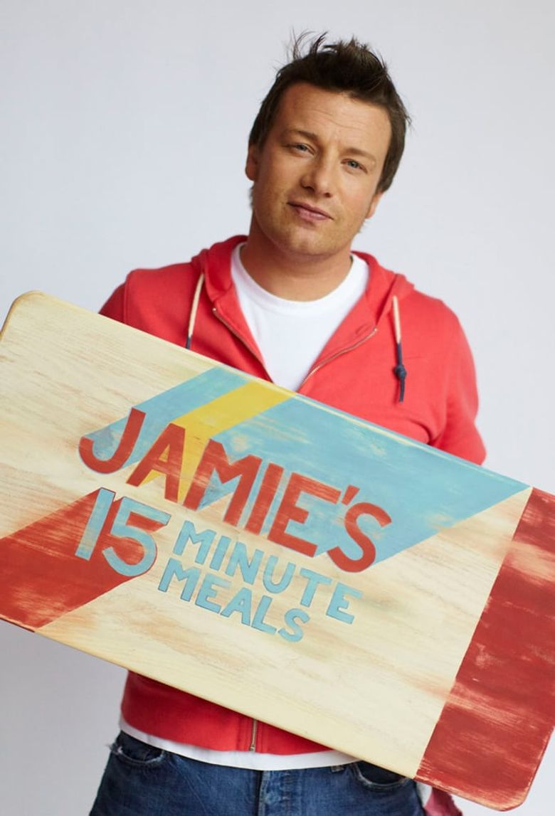 Jamie's 15-Minute Meals Poster