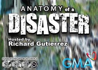 Anatomy of a Disaster Poster