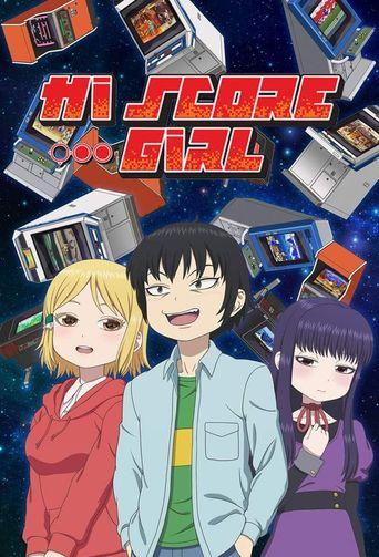 Hi Score Girl Poster