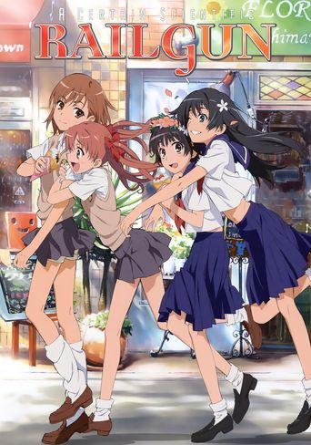 A Certain Scientific Railgun Poster
