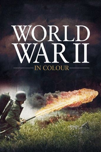 World War II In HD Colour Poster