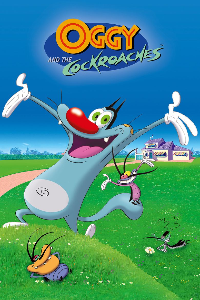 Oggy and the Cockroaches Poster