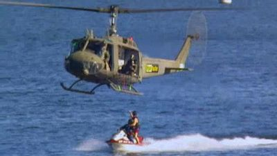 Season 01, Episode 03 Jet Ski to Helicopter/Eat Beetles/Rope Crawl