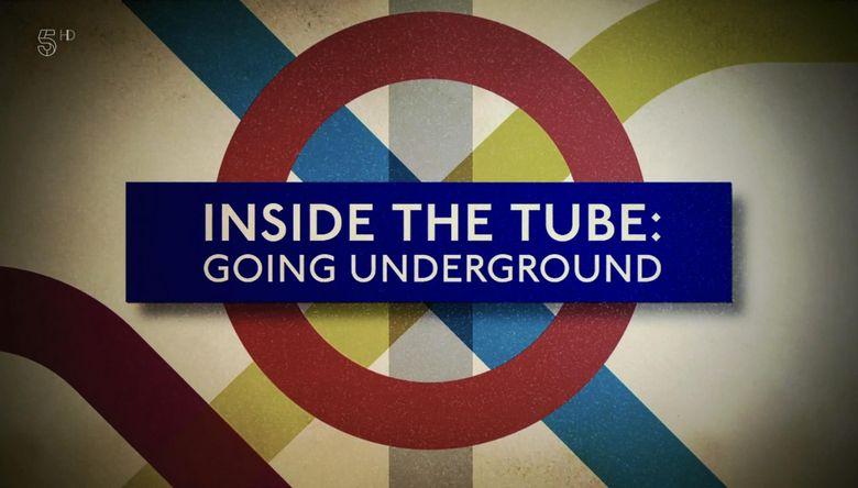 Inside the Tube: Going Underground Poster
