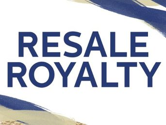 Resale Royalty Poster