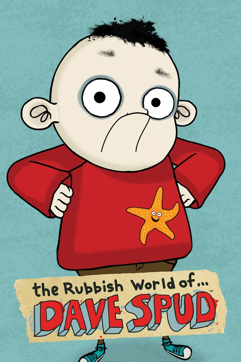 The Rubbish World of Dave Spud Poster