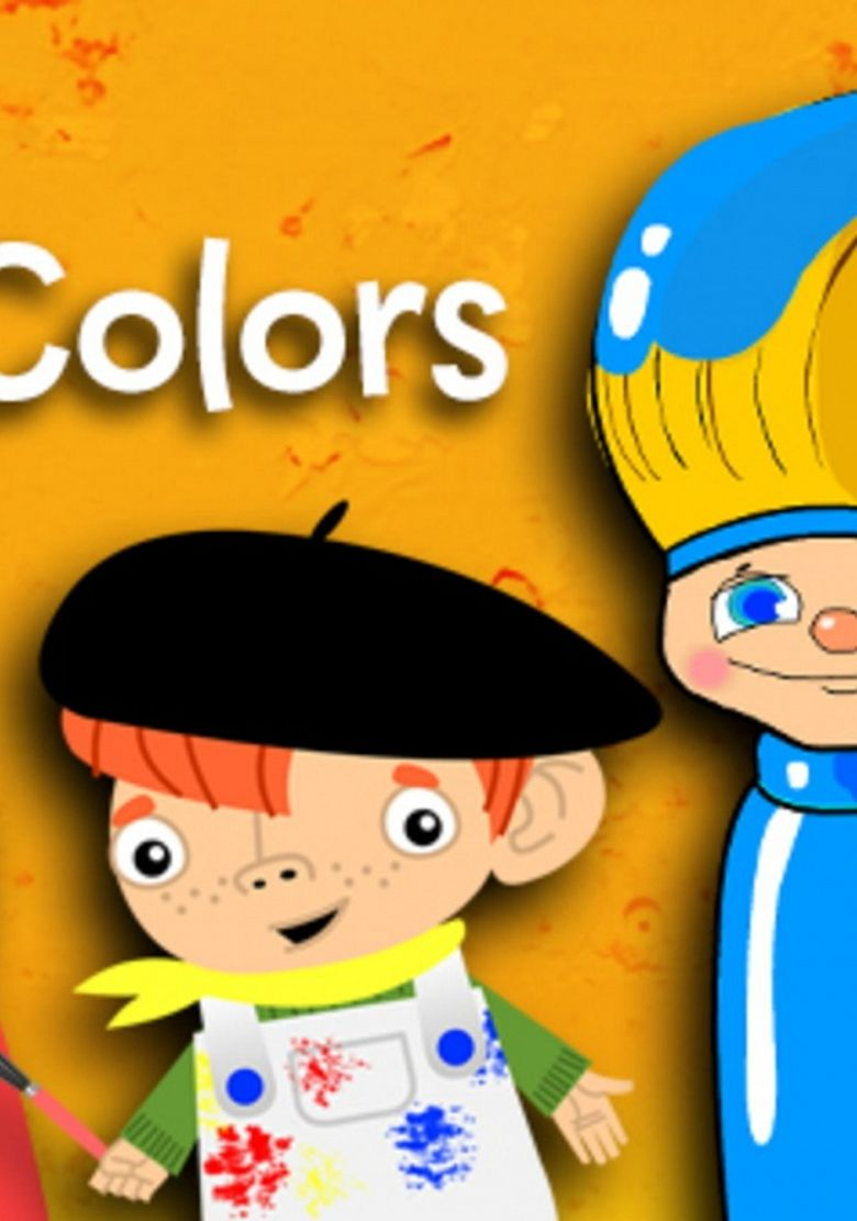 Basic Colors with BabyFirst Poster
